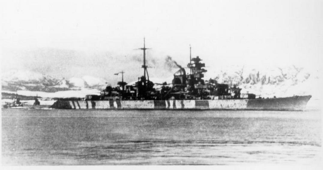 Kriegsmarine Cruiser KMS Prinz Eugen 13