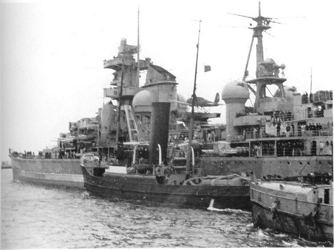 Kriegsmarine Cruiser KMS Prinz Eugen 22