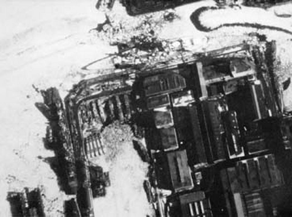 Kriegsmarine Scharnhorst class battlecruisers battleship KMS Scharnhorst during operation Cerberus 04