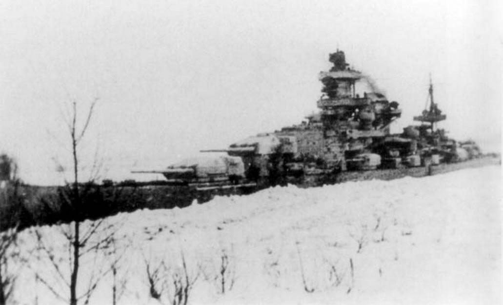 Kriegsmarine Scharnhorst class battlecruisers battleship KMS Scharnhorst during operation Nordmark 01