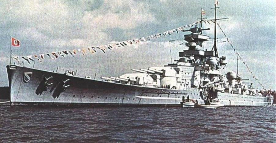 Kriegsmarine battlecruisers KMS Scharnhorst 01