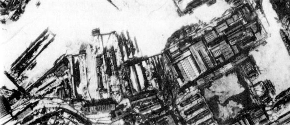 Kriegsmarine battleship KMS Gneisenau destruction 03