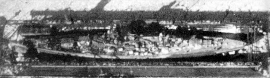 Kriegsmarine battleship KMS Gneisenau destruction 04