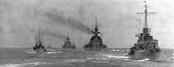 Kriegsmarine battleship KMS Gneisenau during operation Cerberus 02
