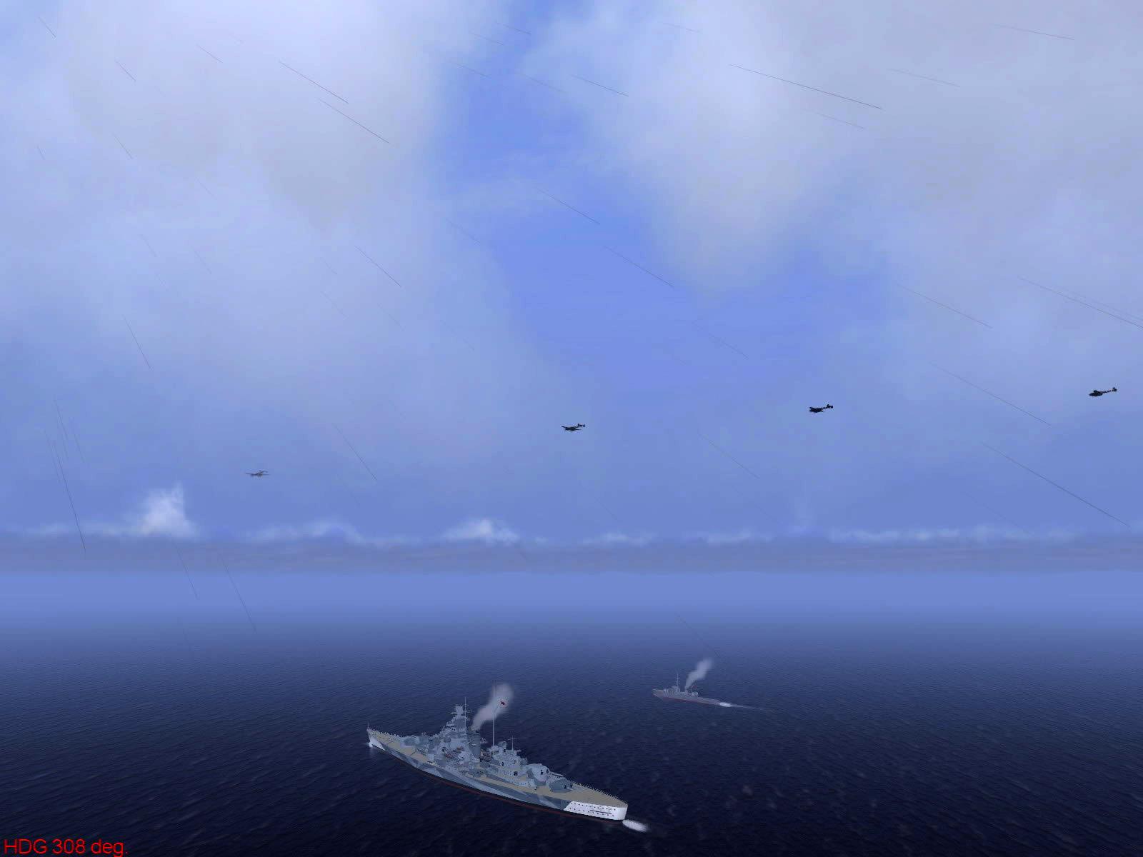 Ubisoft IL2 Sturmovik game version of Operation Donnerkeil 02
