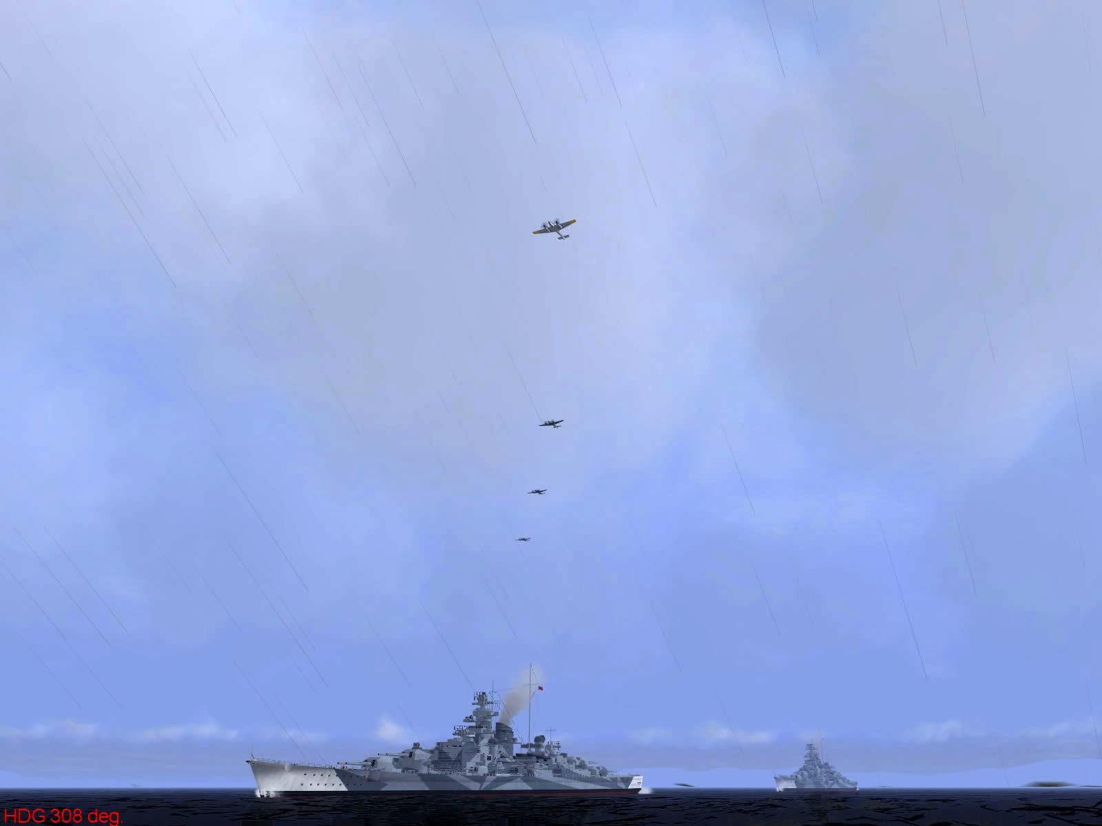 Ubisoft IL2 Sturmovik game version of Operation Donnerkeil 03