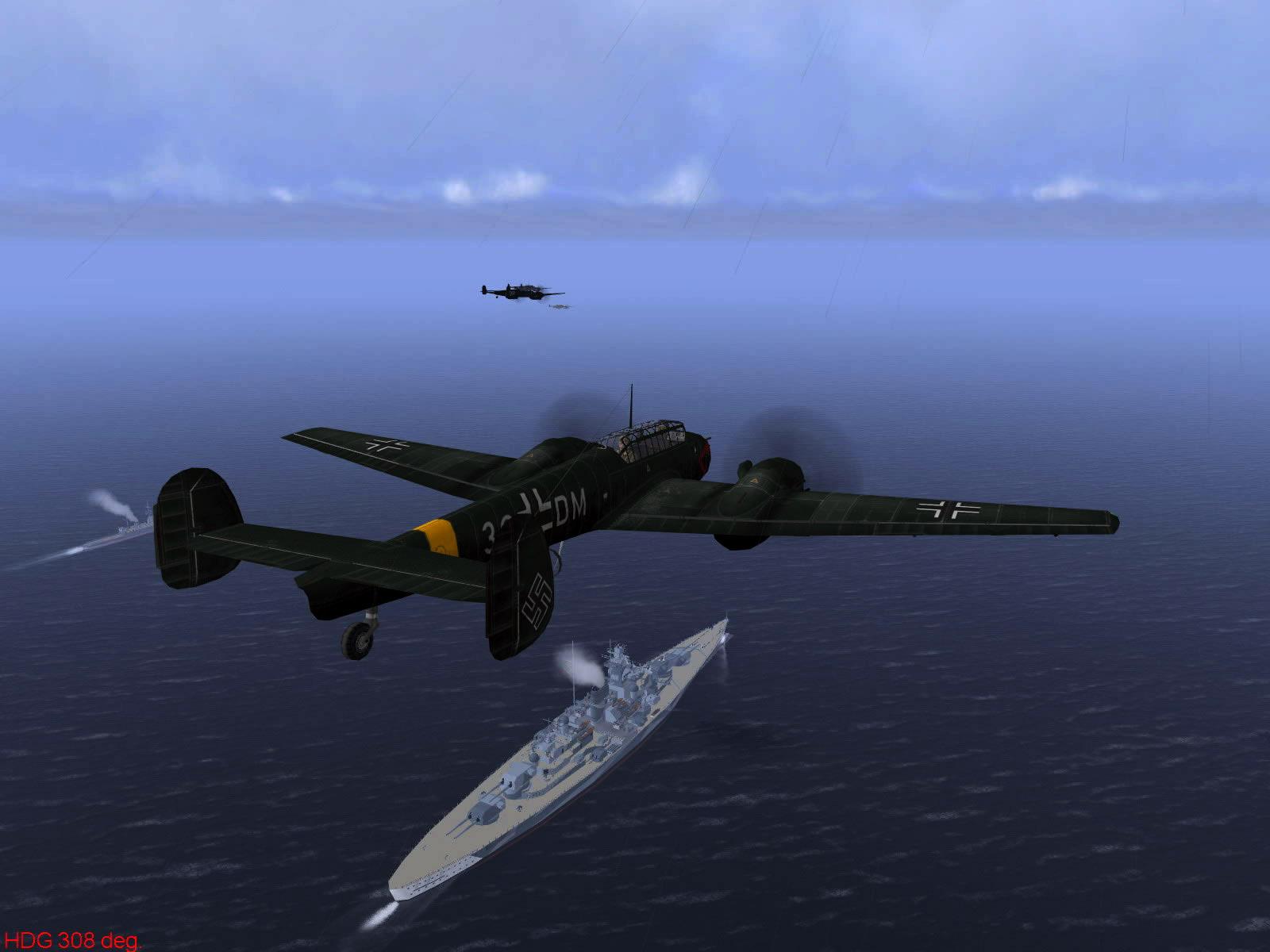 Ubisoft IL2 Sturmovik game version of Operation Donnerkeil 04