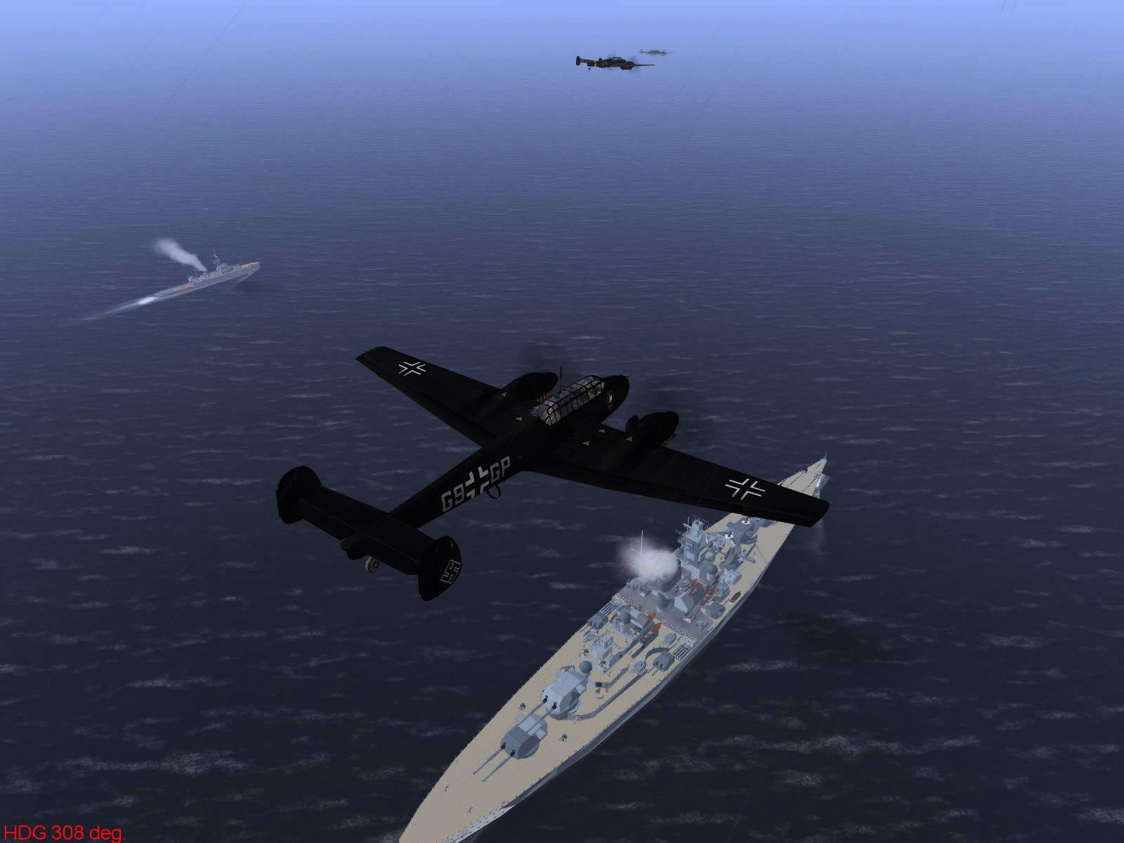 Ubisoft IL2 Sturmovik game version of Operation Donnerkeil 06