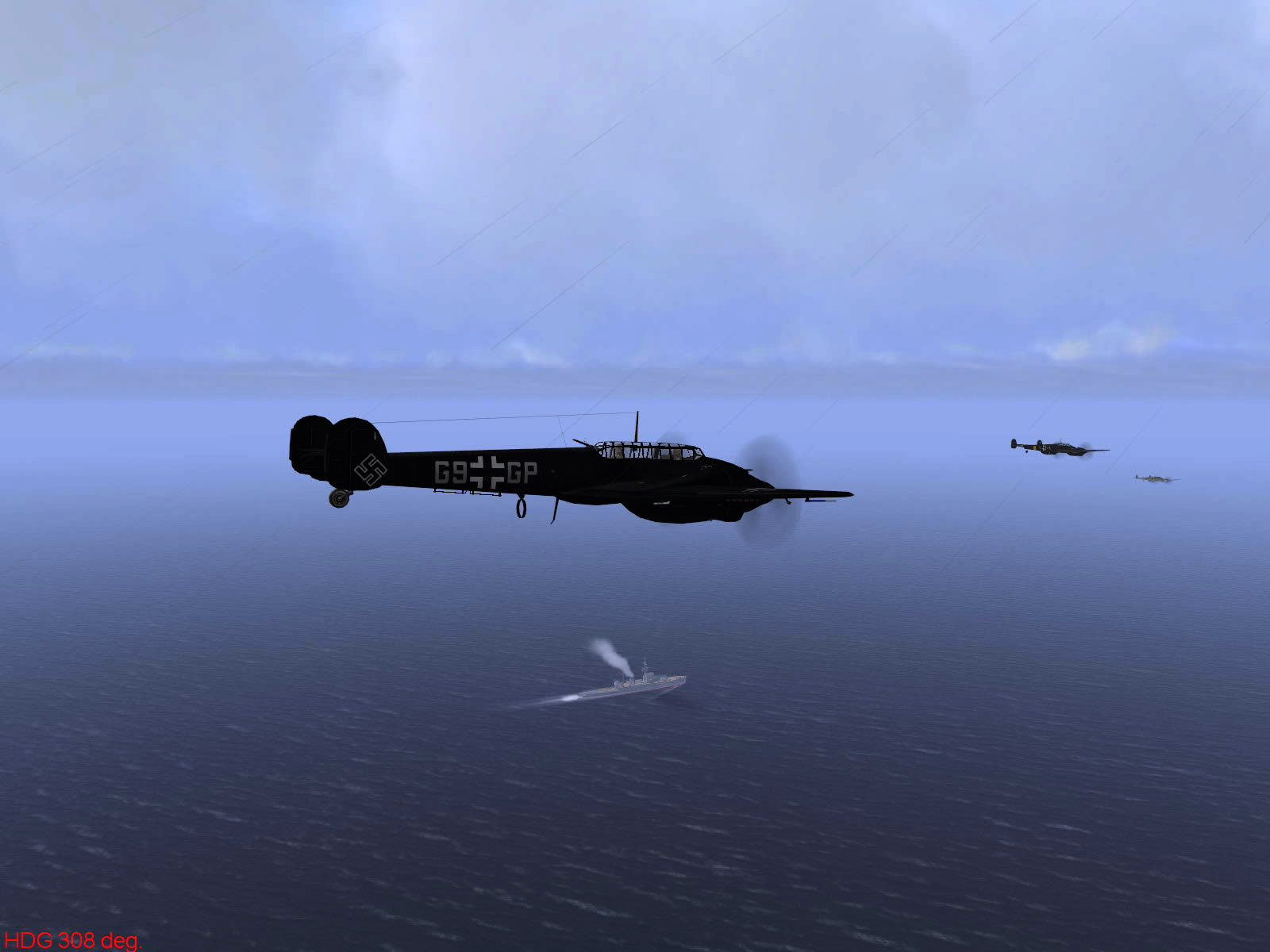 Ubisoft IL2 Sturmovik game version of Operation Donnerkeil 09