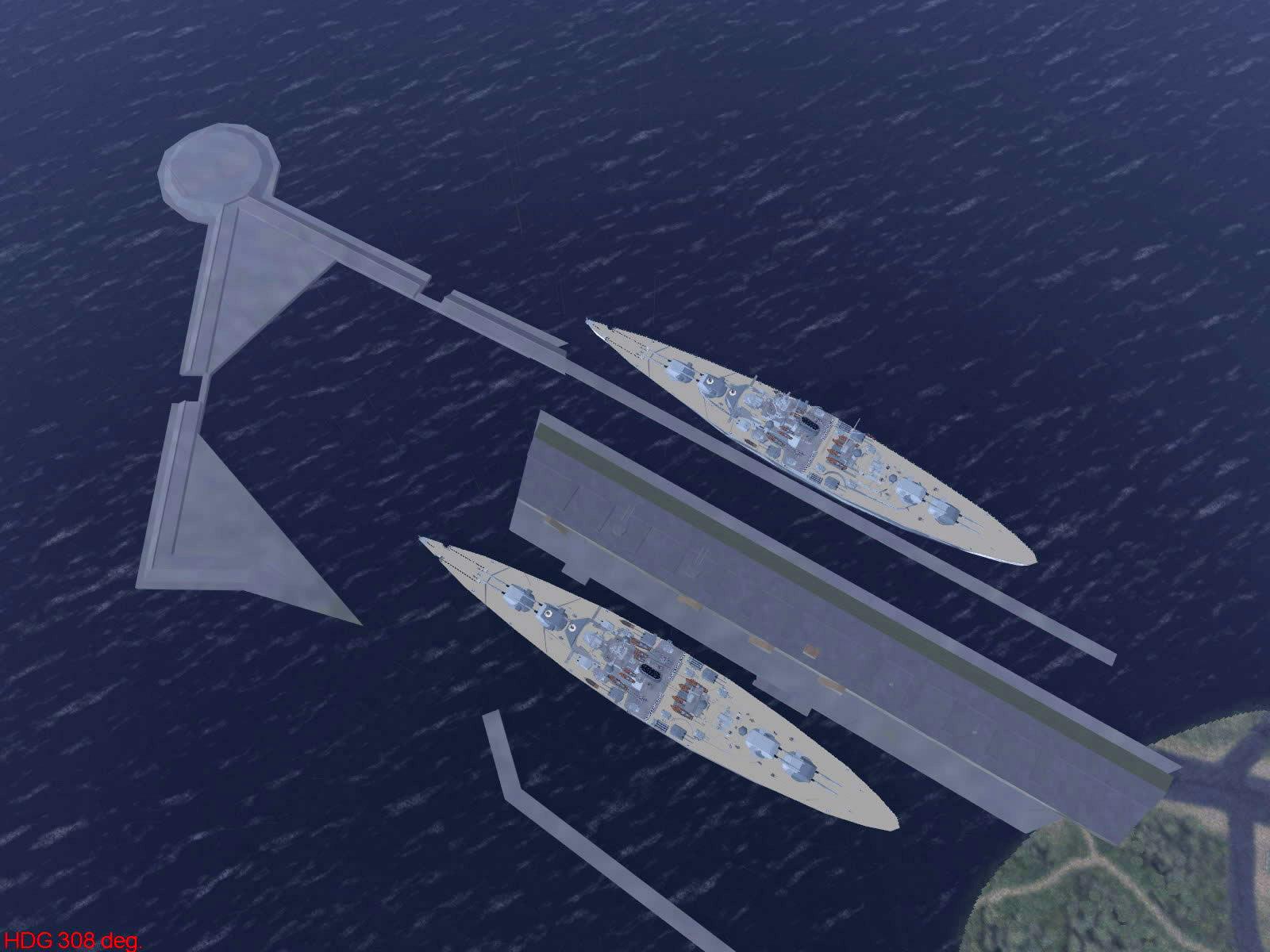 Ubisoft IL2 Sturmovik game version of harbor objets 01