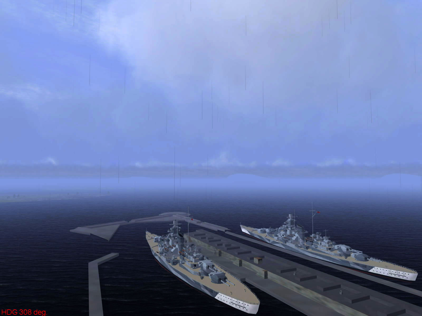 Ubisoft IL2 Sturmovik game version of harbor objets 03