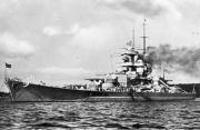 Kriegsmarine Scharnhorst class battlecruisers battleship KMS Gneisenau 01