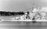 Kriegsmarine battleship KMS Gneisenau Fleet Parade 03