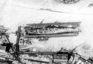 Asisbiz Kriegsmarine battleship KMS Gneisenau destruction 01
