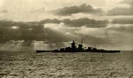 Asisbiz Kriegsmarine battleship KMS Gneisenau during Atlantic operation 11th Aug 1942 01