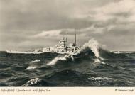 Asisbiz Kriegsmarine battleship KMS Gneisenau during operation berlin 02