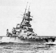 Asisbiz Kriegsmarine battleship KMS Gneisenau during operation berlin 03