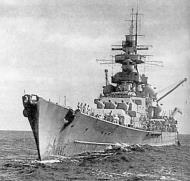 Asisbiz Kriegsmarine battleship KMS Gneisenau during operation berlin 04