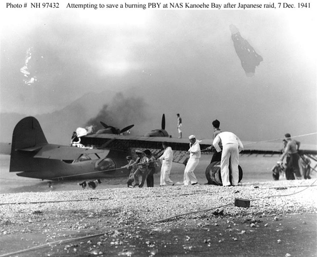 Archive US Navy photos showing the