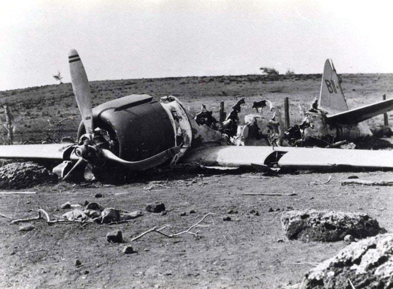 IJN Hiryu Zero A6M2 21 BII 120 Shigenori Nishikaichi crash site Niihau Hawaiian Islands Dec 1941 01