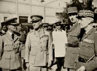 Asisbiz Air Chief Marshal Longmore General Wavell General de Gaulle General Catroux 1941 wiki 01