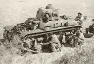 Asisbiz Vichy French R35 with the 63e BCC captured by Australian 7th Division near Tyre Lebanon IWM