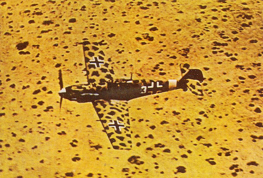 Bf 109E 1.JG27 (W3+) North Africa Feb 1942 02