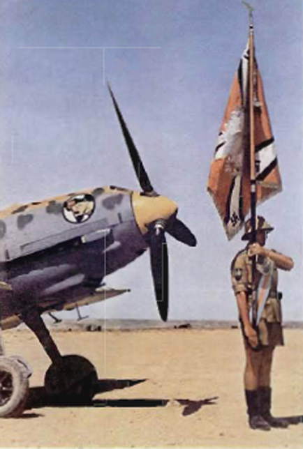 Bf 109E JG27 North Africa 1941