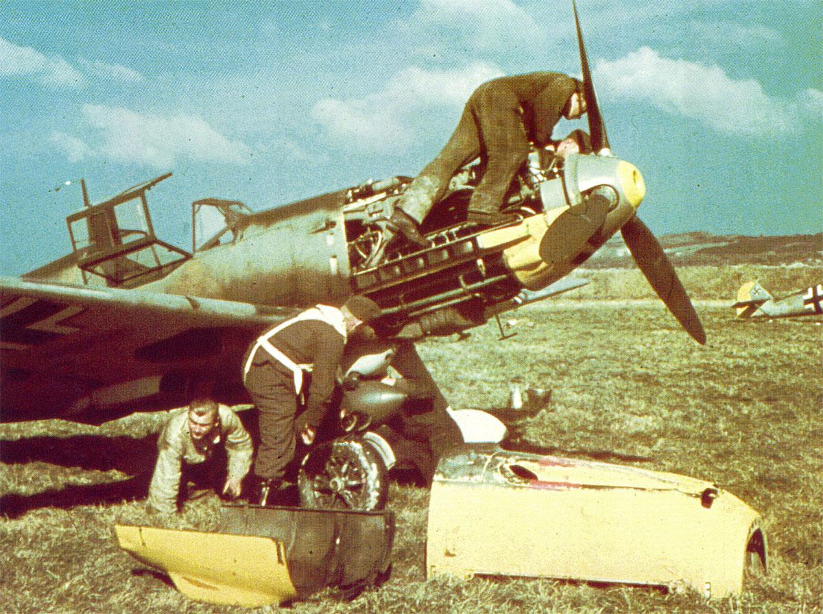 Bf 109E JG53 France 1940 03