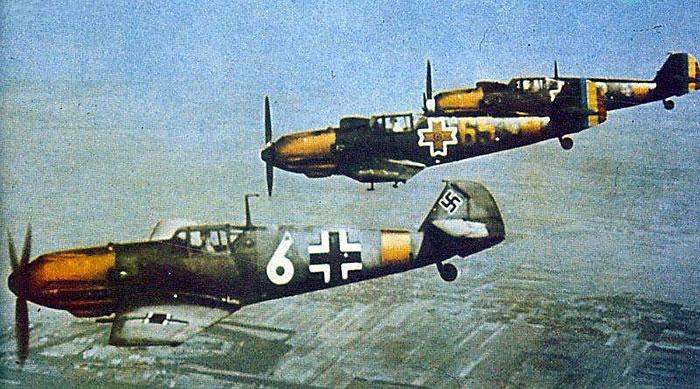 Bf 109E RRAF Gr7 Yellow 65 63