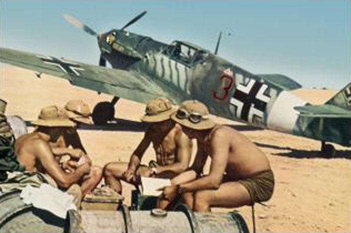 Bf 109E7Trop 2.JG27 (B3+) Eduard Neumann El Gazala June 1941 02