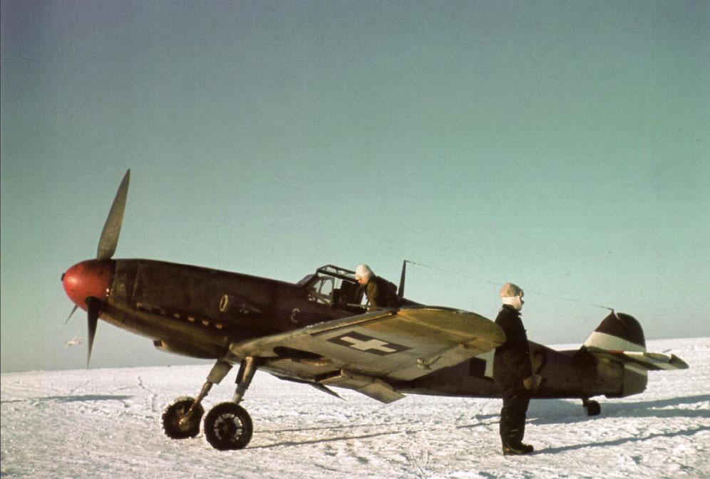 Bf 109F RHAF 101.5 (V0+12) Hungary 1942 01