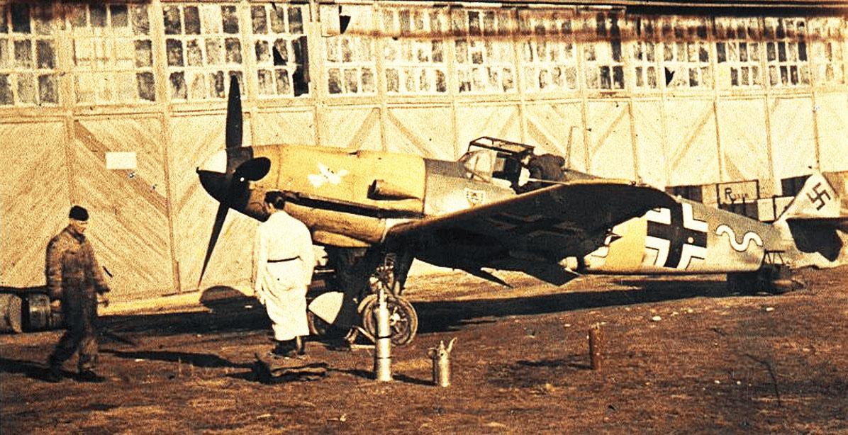 Bf 109F2 7.JG54 (W5+~) Ostermann Russia 1941