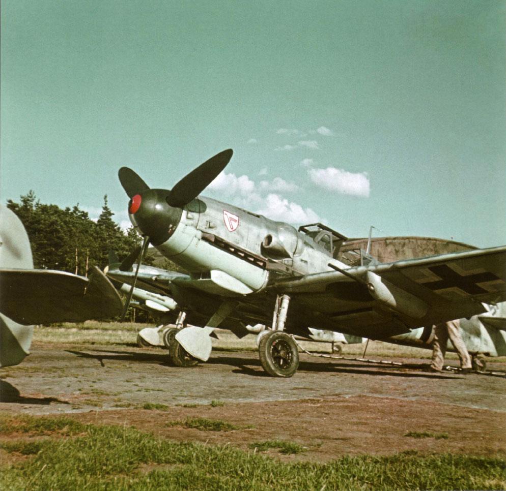 Bf 109G JG3 Kanonenboot Gunboat 01