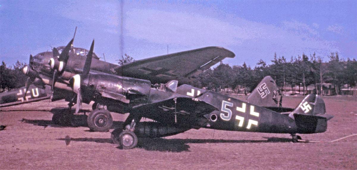 Bf 109G10 II.EJG2 (G5+) Ludwigslust Germany 1944 45 01