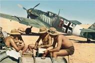 Asisbiz Bf 109E7Trop 2.JG27 (B3+) Eduard Neumann El Gazala June 1941 01