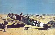 Asisbiz Bf 109E7Trop 2.JG27 (B6+) Sicily 1941
