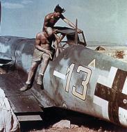 Asisbiz Bf 109G6 6.JG51 Y( 13+) Italy