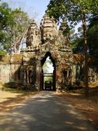 Asisbiz Angkor Wat style architecture North Gate Jan 2010 14