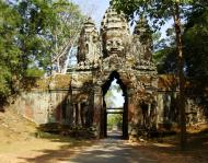 Asisbiz Angkor Wat style architecture North Gate Jan 2010 15