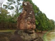 Asisbiz Asuras and Devas Statues on the South Gate bridge Jan 2010 13
