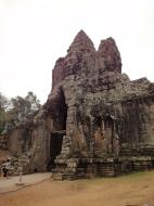 Asisbiz Face tower of the South Gate showing Avalokiteshvara Jan 2010 06