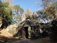 Asisbiz Angkor Wat style architecture Victory Gate Jan 2010 04