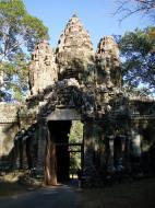 Asisbiz Angkor Wat style architecture Victory Gate Jan 2010 06