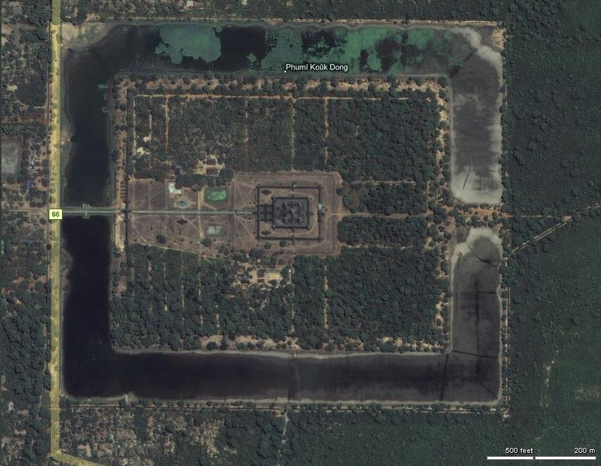 1 Aerial View Angkor Wat 0B