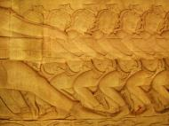 Asisbiz Angkor Wat Bas relief E Gallery S Wing Churning of the sea of milk 01