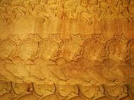 Asisbiz Angkor Wat Bas relief E Gallery S Wing Churning of the sea of milk 02