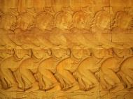 Asisbiz Angkor Wat Bas relief E Gallery S Wing Churning of the sea of milk 04