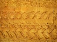 Asisbiz Angkor Wat Bas relief E Gallery S Wing Churning of the sea of milk 05