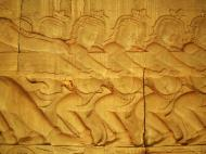 Asisbiz Angkor Wat Bas relief E Gallery S Wing Churning of the sea of milk 06